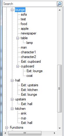 Editor tree