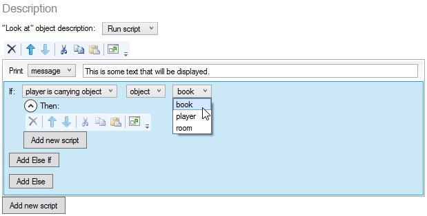 Editing a more complex script