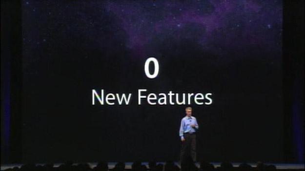 0 new features